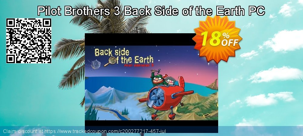 Pilot Brothers 3 Back Side of the Earth PC coupon on Emoji Day offering discount