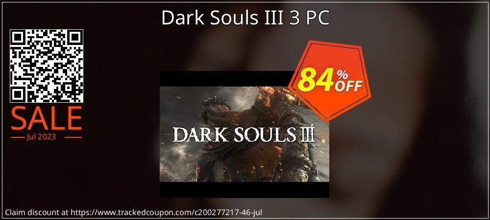 Get 84% OFF Dark Souls III 3 PC promo sales