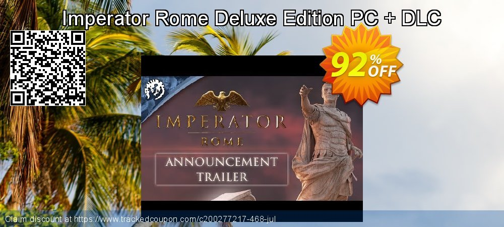 Imperator Rome Deluxe Edition PC + DLC coupon on Nude Day super sale