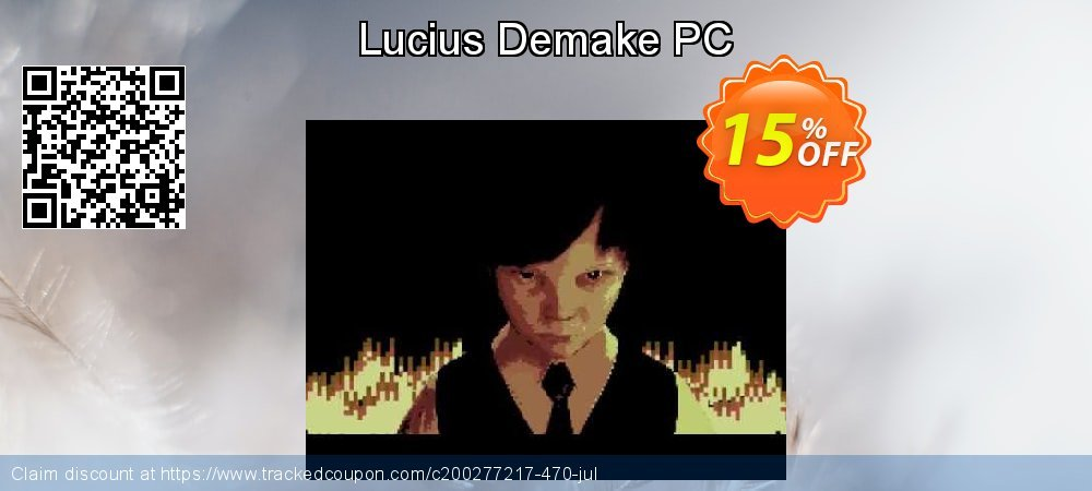 Lucius Demake PC coupon on Halloween offer
