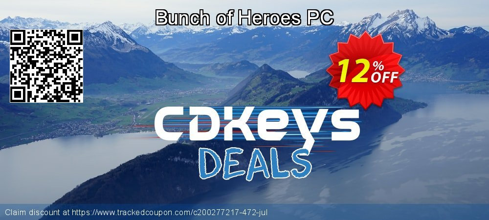 Bunch of Heroes PC coupon on Summer deals