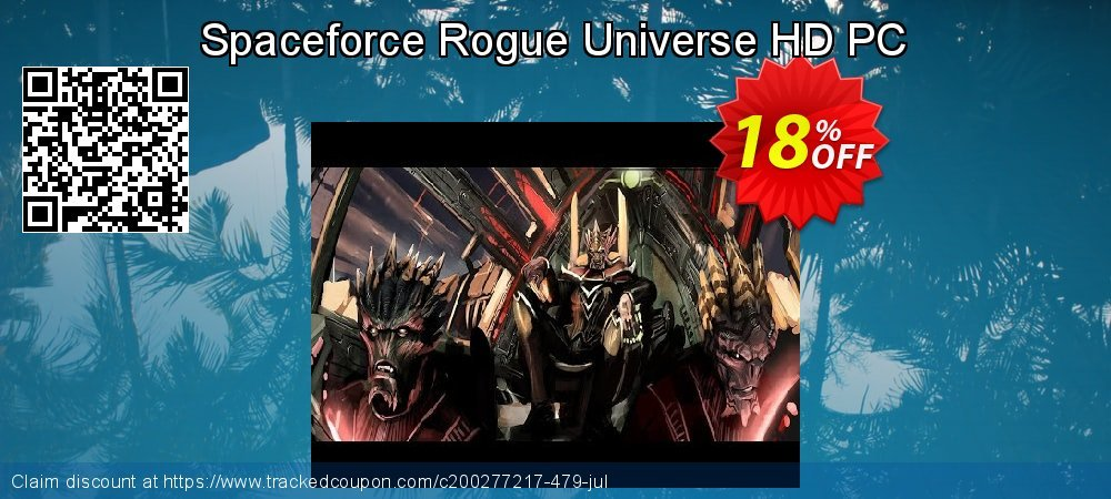 Spaceforce Rogue Universe HD PC coupon on Video Game Day promotions