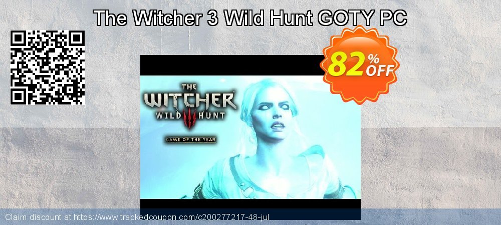 The Witcher 3 Wild Hunt GOTY PC coupon on Mom Day discounts