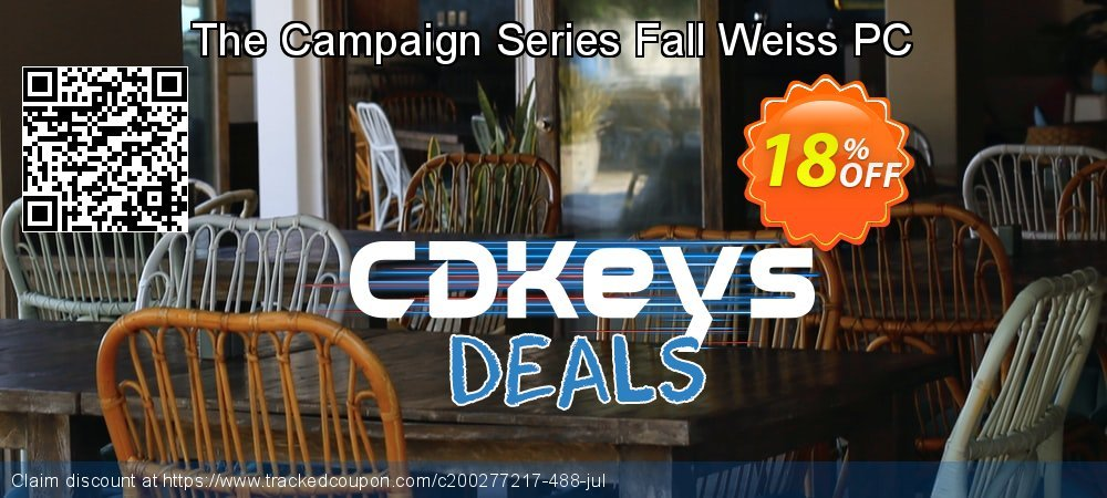 The Campaign Series Fall Weiss PC coupon on World Chocolate Day promotions
