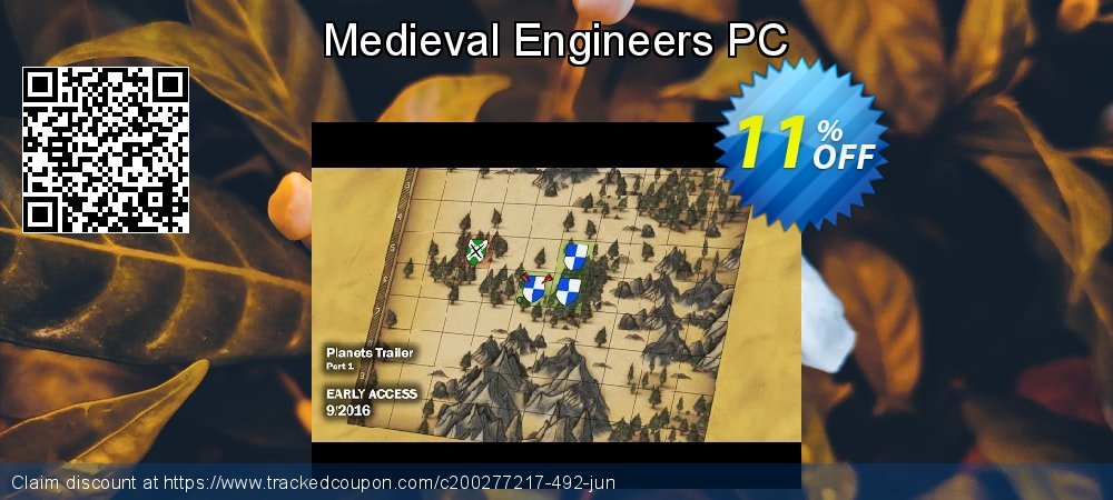 Medieval Engineers PC coupon on Back to School promotions offering sales