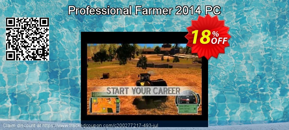 Professional Farmer 2014 PC coupon on Back to School deals super sale