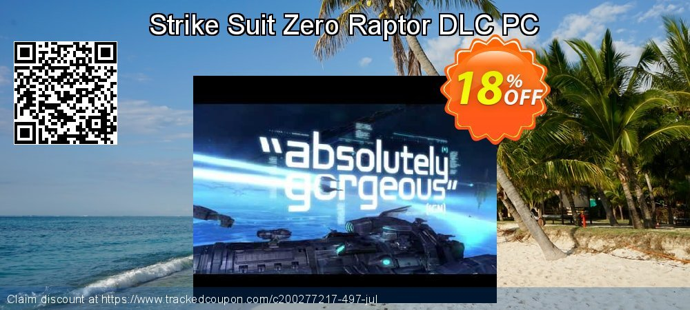 Strike Suit Zero Raptor DLC PC coupon on Back to School season deals