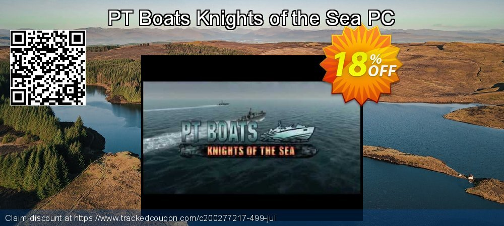 PT Boats Knights of the Sea PC coupon on Halloween offering discount