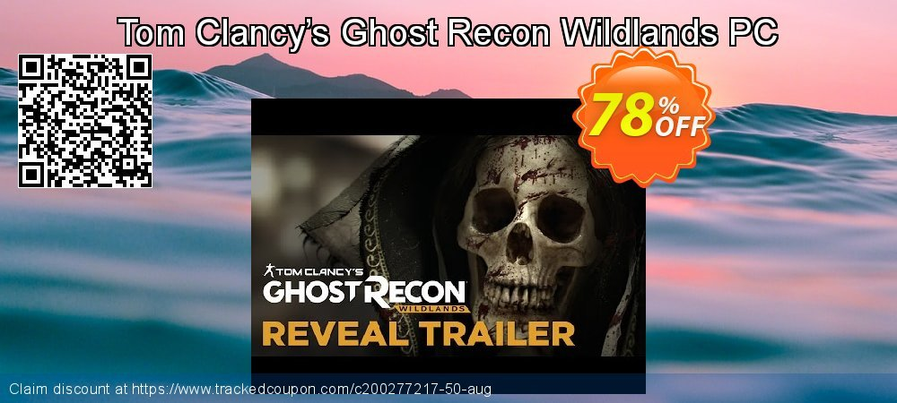 Tom Clancy's Ghost Recon Wildlands PC coupon on All Hallows' evening offering sales