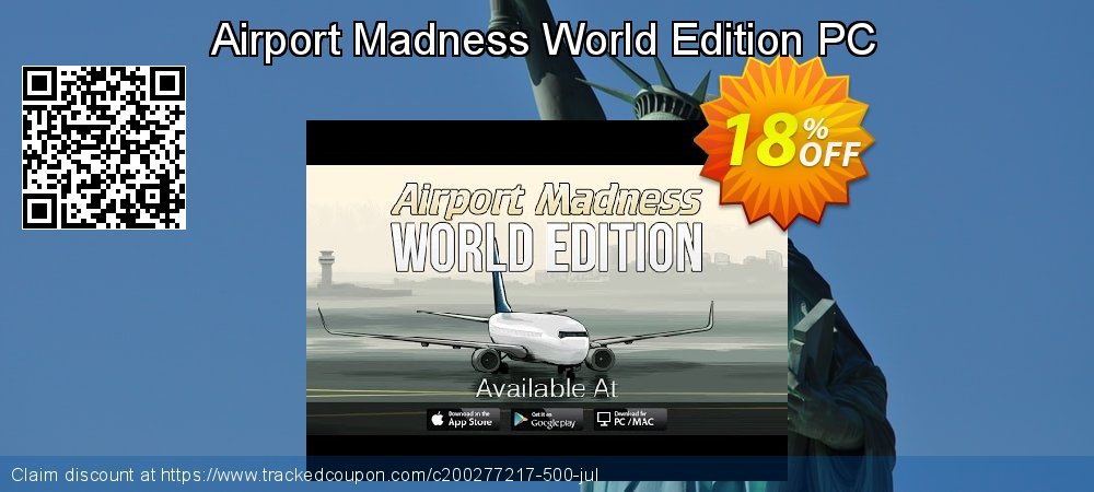 Airport Madness World Edition PC coupon on Exclusive Student discount offering discount