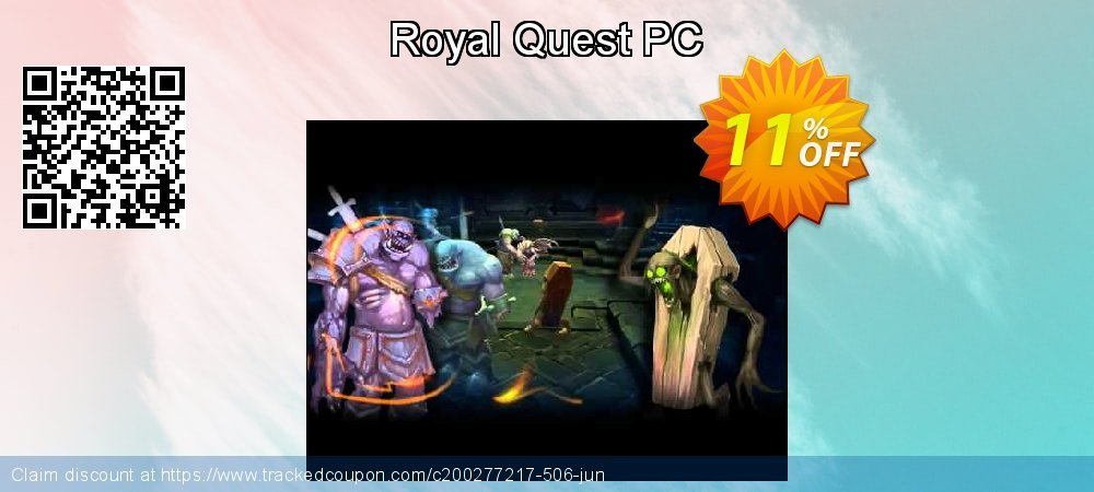 Royal Quest PC coupon on Back to School promotion deals
