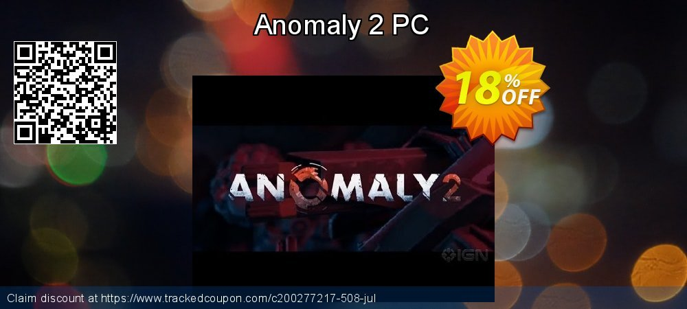 Anomaly 2 PC coupon on Tattoo Day deals