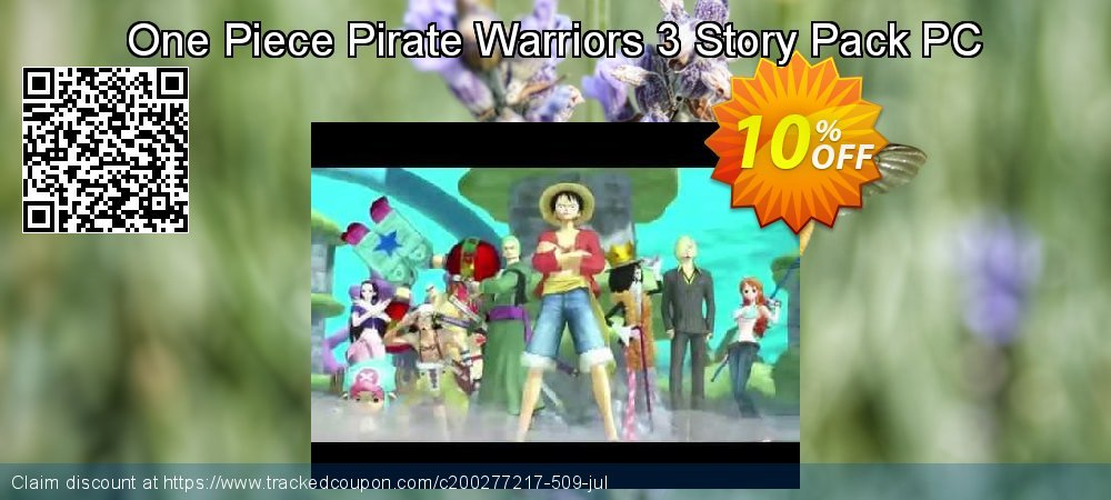 Get 10% OFF One Piece Pirate Warriors 3 Story Pack PC offering sales