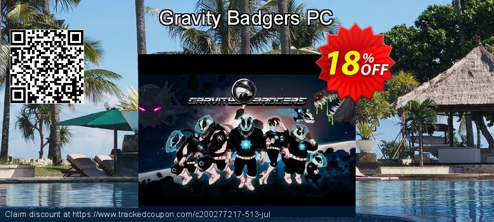 Gravity Badgers PC coupon on Back to School coupons promotions