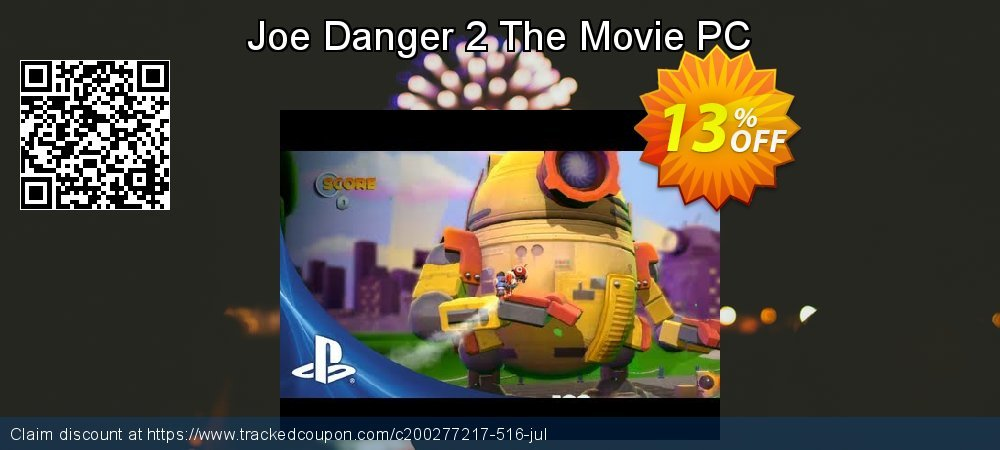 Joe Danger 2 The Movie PC coupon on World UFO Day sales