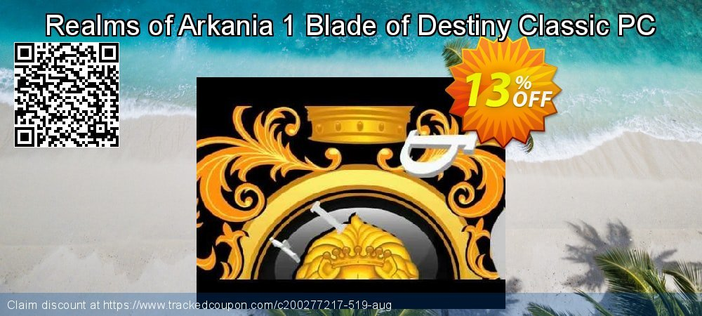 Realms of Arkania 1 Blade of Destiny Classic PC coupon on University Student offer offering sales