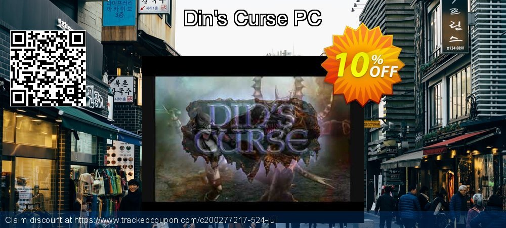 Din's Curse PC coupon on Back to School promo deals