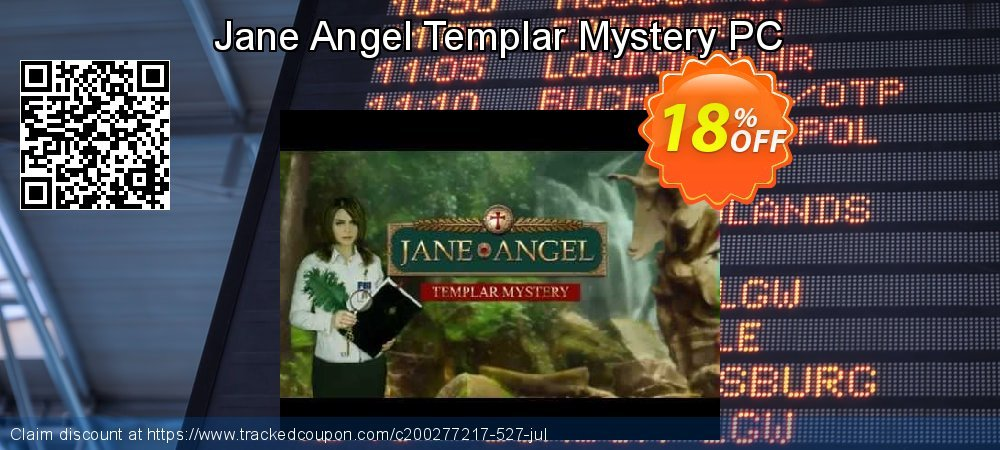 Jane Angel Templar Mystery PC coupon on World Chocolate Day offer