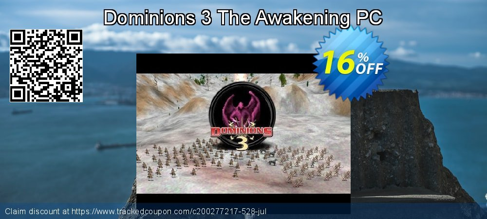 Dominions 3 The Awakening PC coupon on National French Fry Day discount