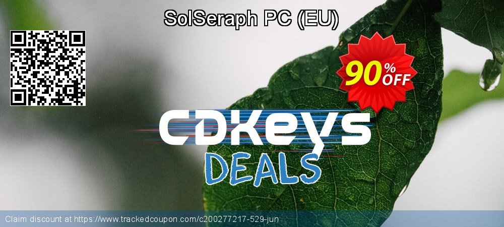 SolSeraph PC - EU  coupon on Back to School offer super sale
