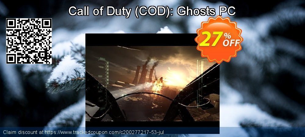 Call of Duty - COD : Ghosts PC coupon on Chinese National Day promotions