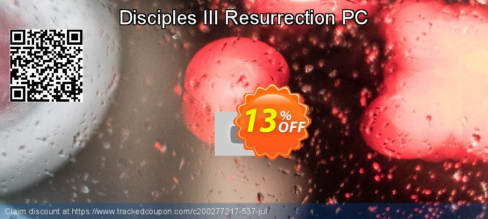 Disciples III Resurrection PC coupon on University Student deals offering sales