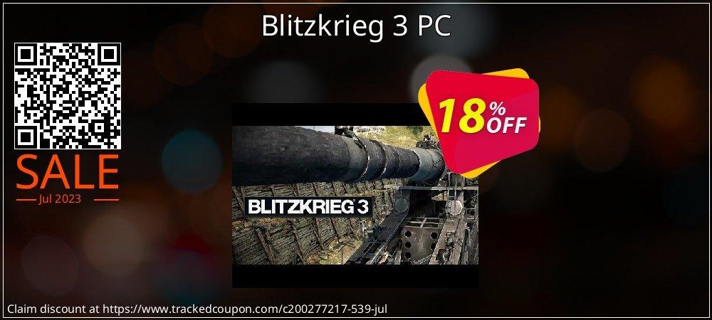 Blitzkrieg 3 PC coupon on College Student deals discounts
