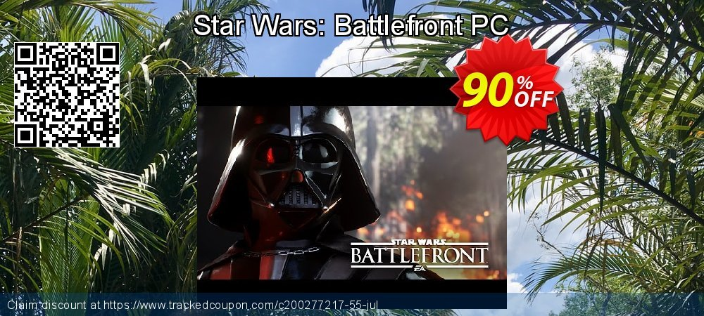Star Wars: Battlefront PC coupon on National Savings Day deals