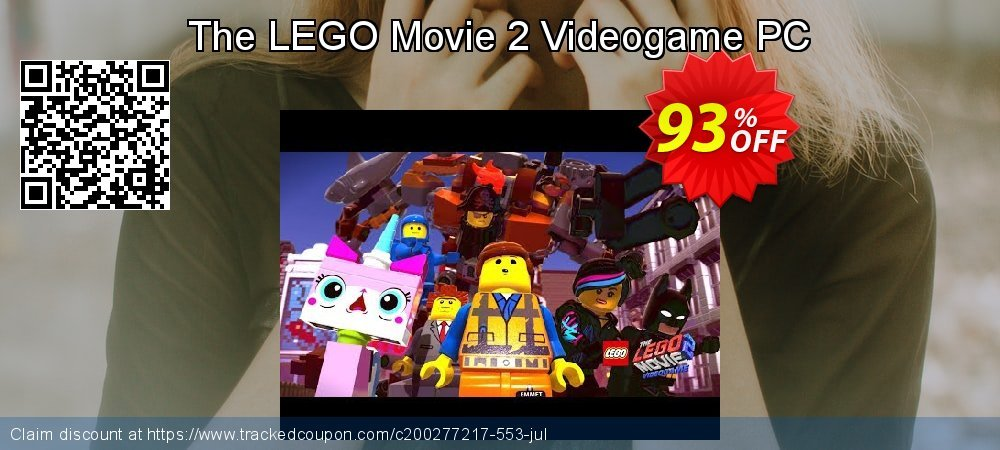 The LEGO Movie 2 Videogame PC coupon on University Student offer discount