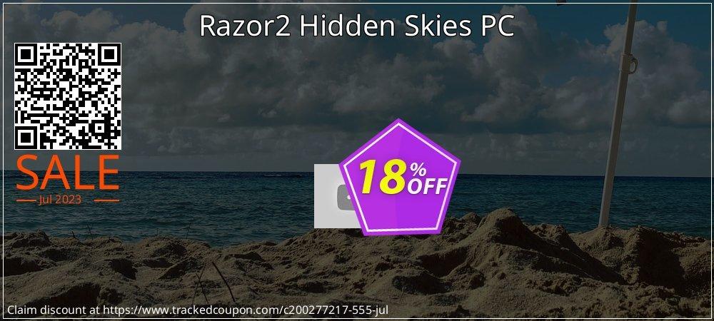 Razor2 Hidden Skies PC coupon on World UFO Day discount