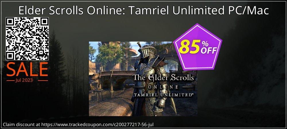 Elder Scrolls Online: Tamriel Unlimited PC/Mac coupon on National Noodle Day offer