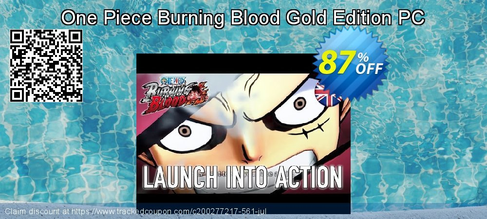 One Piece Burning Blood Gold Edition PC coupon on Back to School deals offer