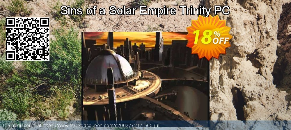 Sins of a Solar Empire Trinity PC coupon on American Independence Day offering discount