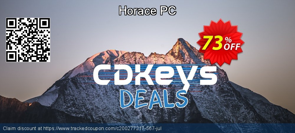 Horace PC coupon on Student deals promotions