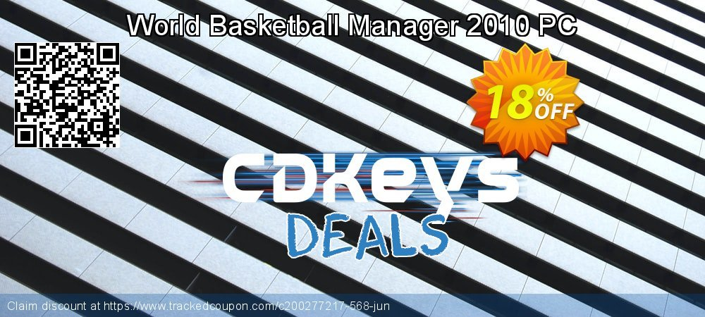 World Basketball Manager 2010 PC coupon on Exclusive Student discount sales