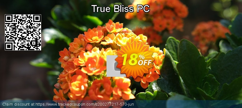 True Bliss PC coupon on University Student offer offer