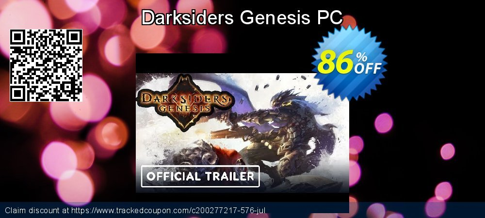 Darksiders Genesis PC coupon on Back-to-School event promotions