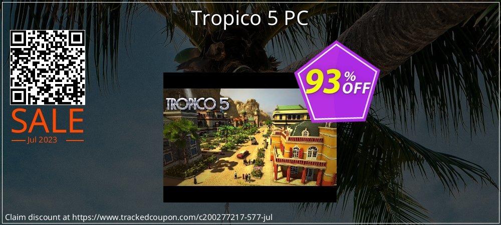 Get 95% OFF Tropico 5 PC offering sales