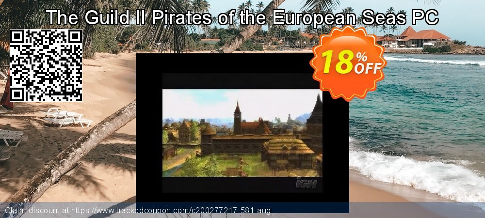 Get 10% OFF The Guild II Pirates of the European Seas PC offering sales