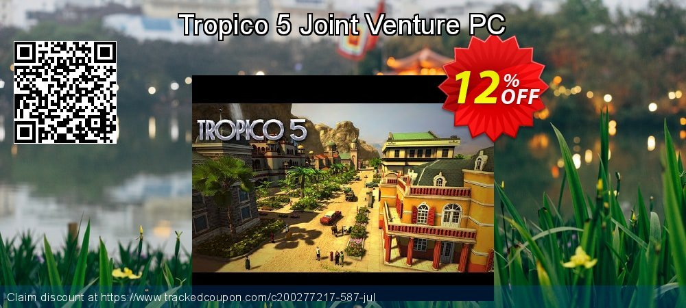 Tropico 5 Joint Venture PC coupon on Emoji Day promotions