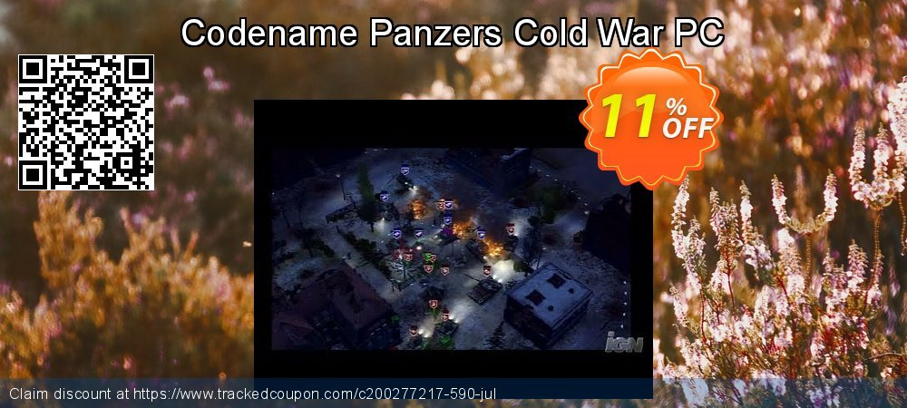 Codename Panzers Cold War PC coupon on College Student deals offering discount