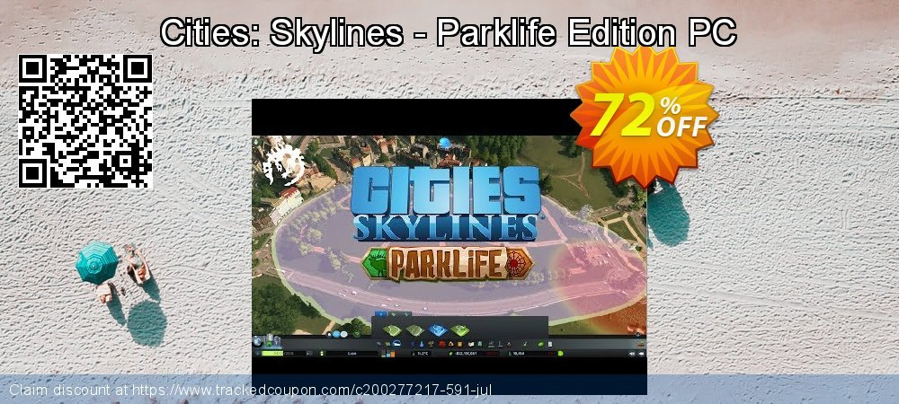Cities: Skylines - Parklife Edition PC coupon on Back to School promotion offering sales