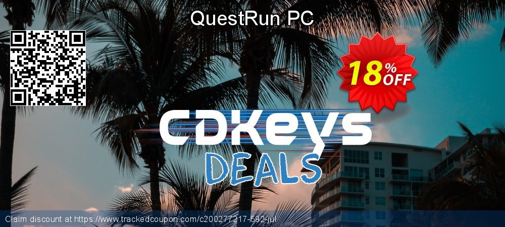 QuestRun PC coupon on Back to School promo super sale