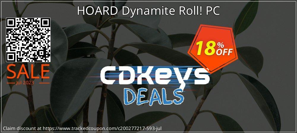 Get 10% OFF HOARD Dynamite Roll! PC offering deals
