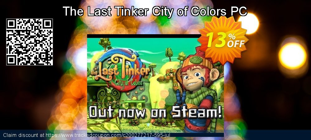 Get 10% OFF The Last Tinker City of Colors PC promo sales