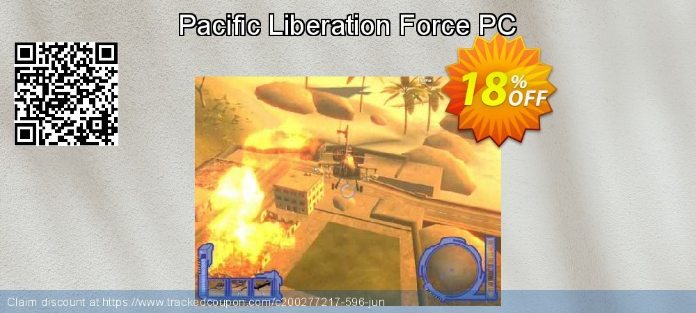 Pacific Liberation Force PC coupon on Back to School shopping deals