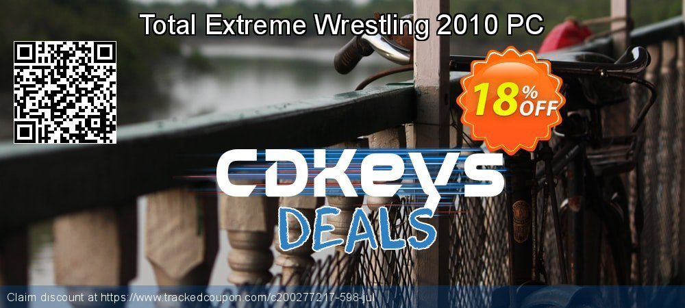 Get 10% OFF Total Extreme Wrestling 2010 PC promo
