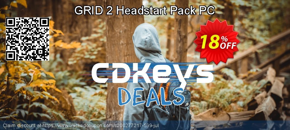 GRID 2 Headstart Pack PC coupon on Halloween offering sales