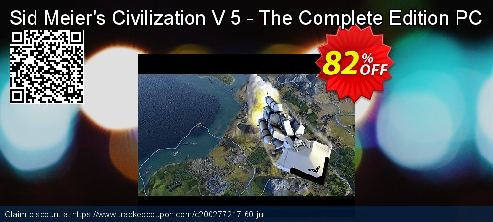 Sid Meier's Civilization V 5 - The Complete Edition PC coupon on Mom Day deals
