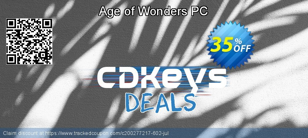 Age of Wonders PC coupon on Exclusive Student discount discounts